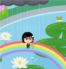 2013.6.22に撮影した【ひーろん】さんの【虹の池】での写真です。