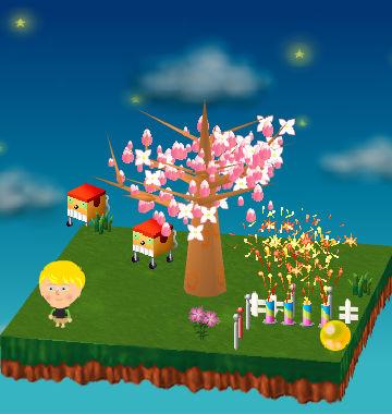 『ピンクのなでしこ、元旦日の出と共に満開』(オンリー1さんの庭にて)