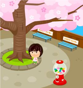 2011.3.29に撮影した【うずちゃん】さんの【ソナタ広場1】での写真です。
