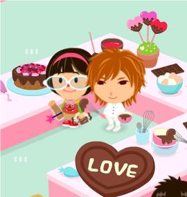 2012.2.18に撮影した【うずちゃん】さんの【チョコレート教室】での写真です。