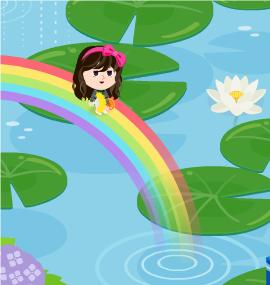 2015.6.22に撮影した【ゆう】さんの【虹の池エリア】での写真です。